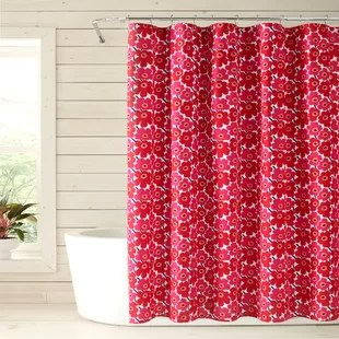 red shower curtains shower liners you