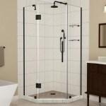 Merrick Gs Frameless 42 X 72 Neo Angle Hinged Shower Enclosure