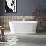 Kohler Memoirs 60 X 34 Freestanding Soaking Bathtub Wayfair