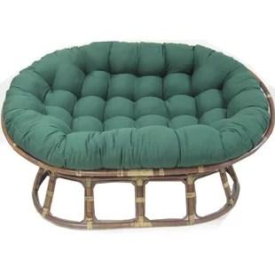 papasan chair stool cushions ergonomic leg circulation find seat for your kitchen wayfair indoor cushion