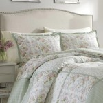 Laura Ashley Harper Bright Green Comforter Set Reviews Wayfair