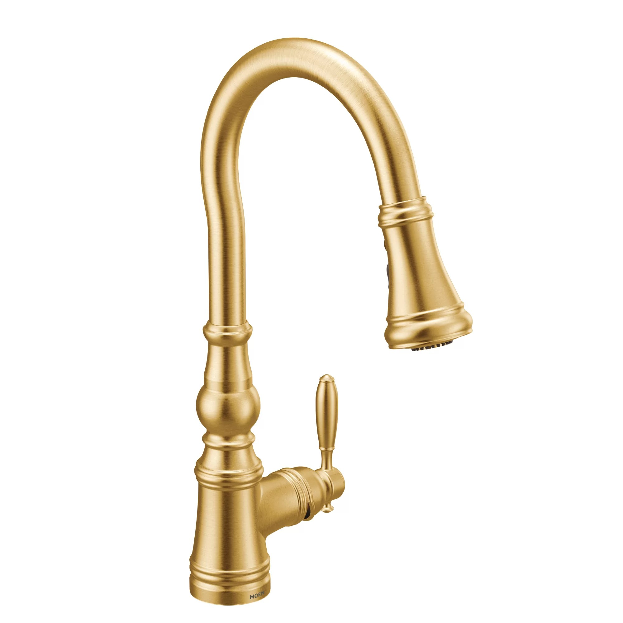 weymouth one handle pull down single handle kitchen faucet with power boost