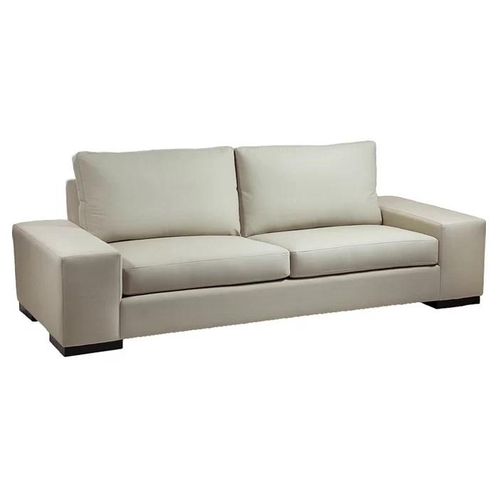 wide sofas surefit sofa cover review 82 inch wayfair ca vince arm