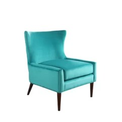 Turquoise Accent Chairs White Leather Egg Chair With Tilt Lock Mechanism Wayfair Quickview