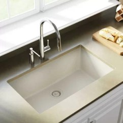 Kitchen Sink White Island With Marble Top Sinks You Ll Love Wayfair Ca Save