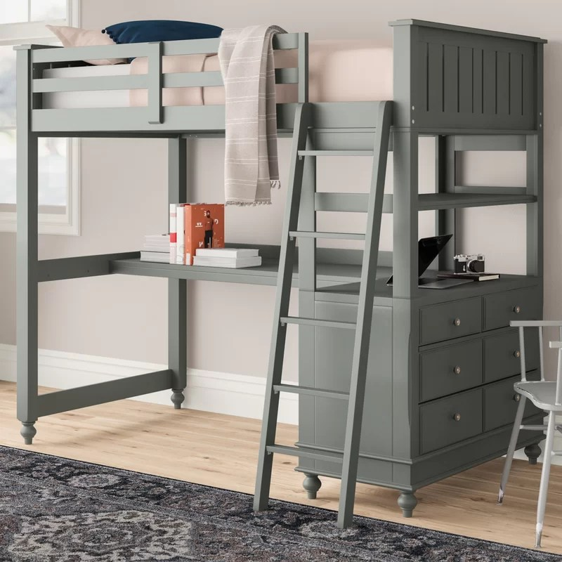 Biggs Loft Bed with Drawers