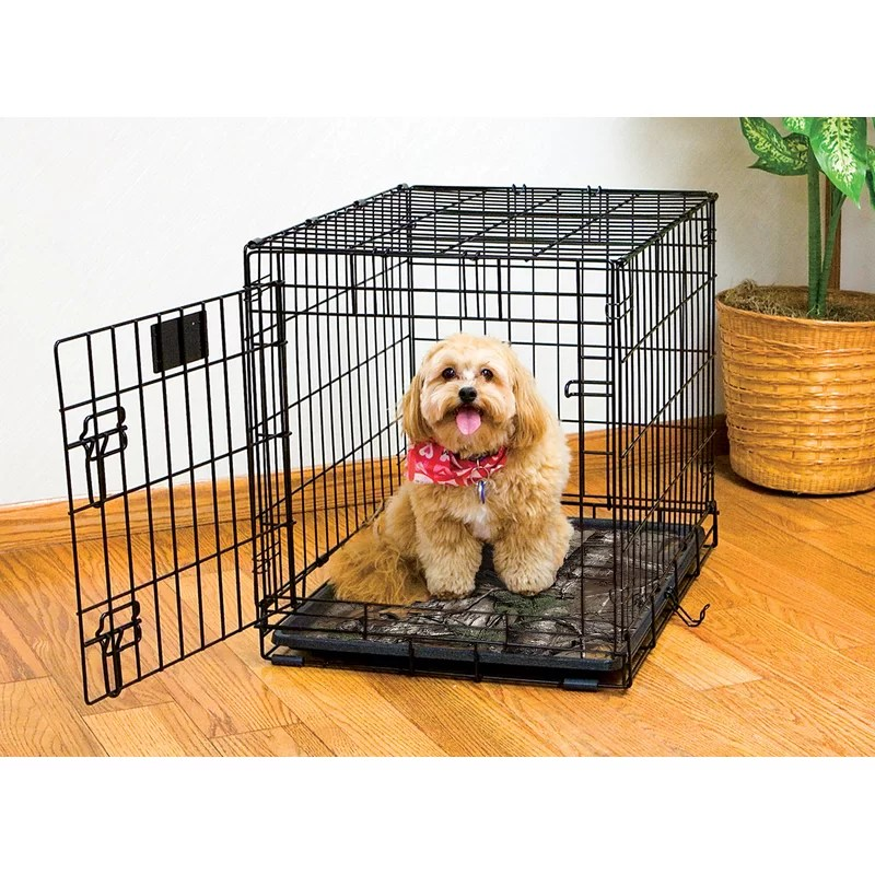 Real Tree Xtra Dog Crate Mat Size: Small (24 L x 18 W)