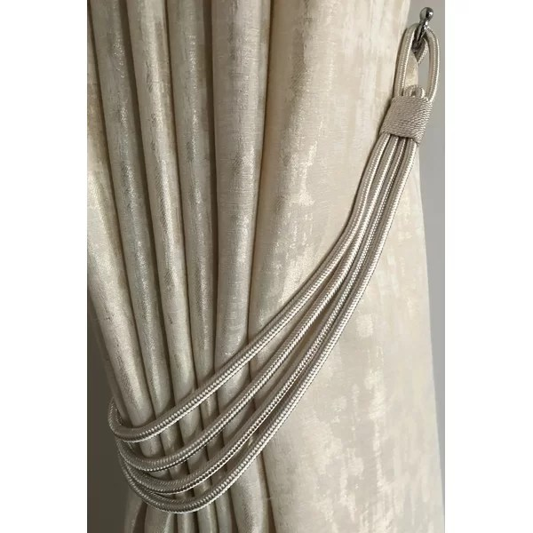 magnetic curtain hold backs