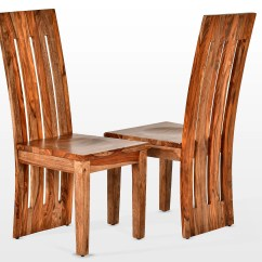 Solid Wood Chairs Home Office Loon Peak Avelar Dining Chair Wayfair