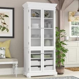kitchen armoire cheap decor wayfair pottstown 75 pantry