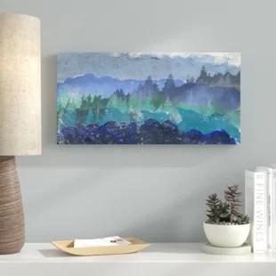 mountains wall art you ll love wayfair
