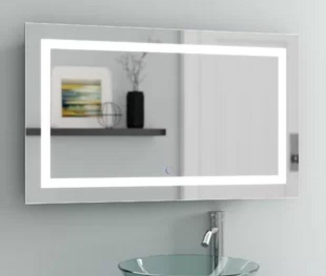 Ries Led Coastal Lighted Wall Mirror