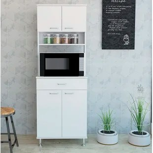 microwave carts stands free