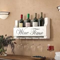 stemware holder white wood wine racks