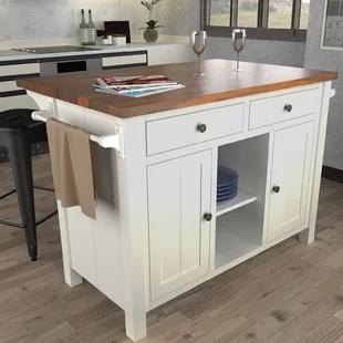 kitchen island counter sink cabinets islands you ll love wayfair ca save