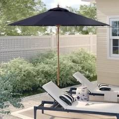 farmhouse rustic patio umbrellas