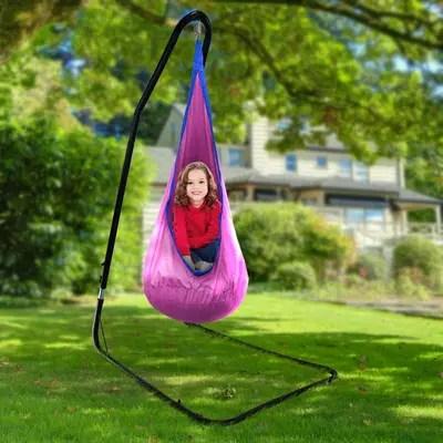 hammock chair stand adjustable sears recliner chairs freeport park kaylan metal wayfair