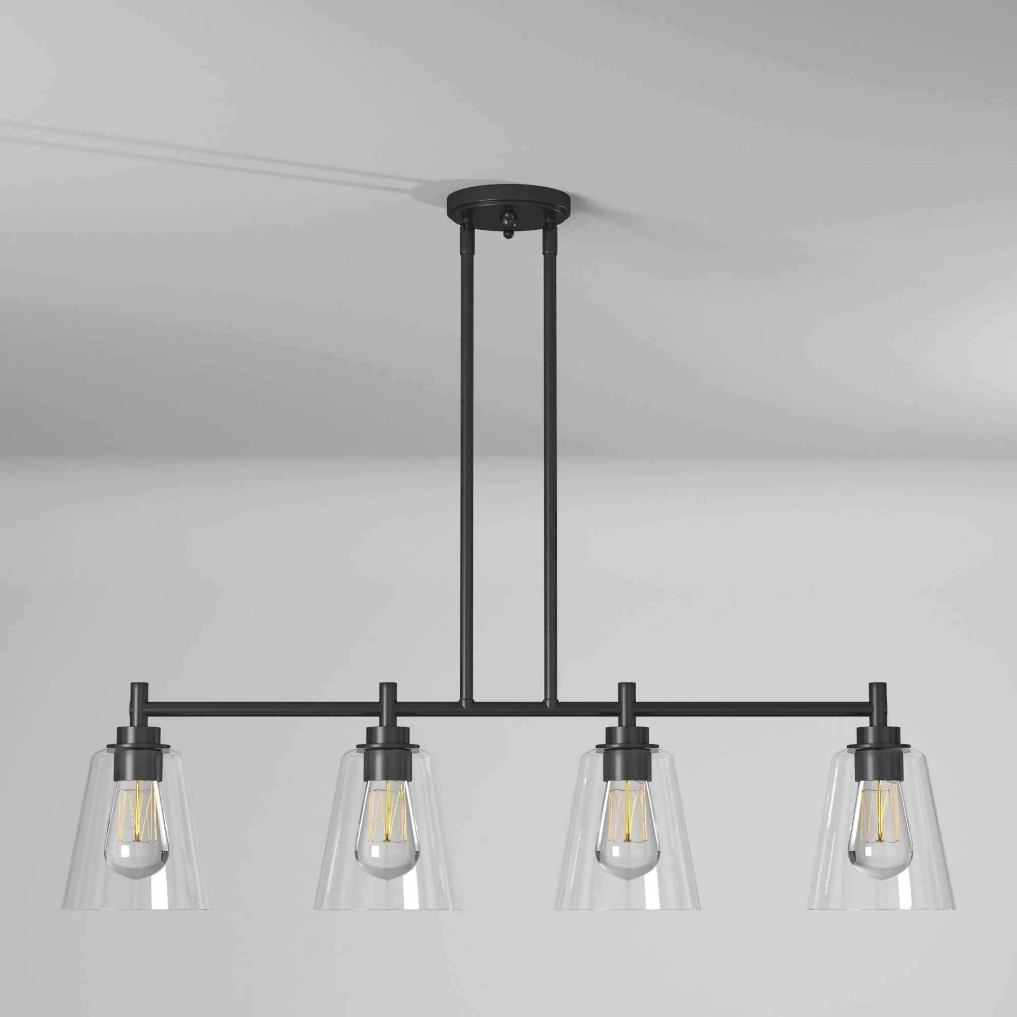 black kitchen island pendant lighting