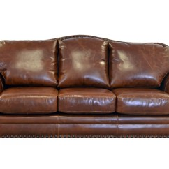 Parker Leather Sofa Reviews Grey Set Westland And Birch Genuine Top Grain