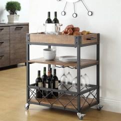 Kitchen Carts Large Floor Tiles For Mercury Row Zona Cart Reviews Wayfair