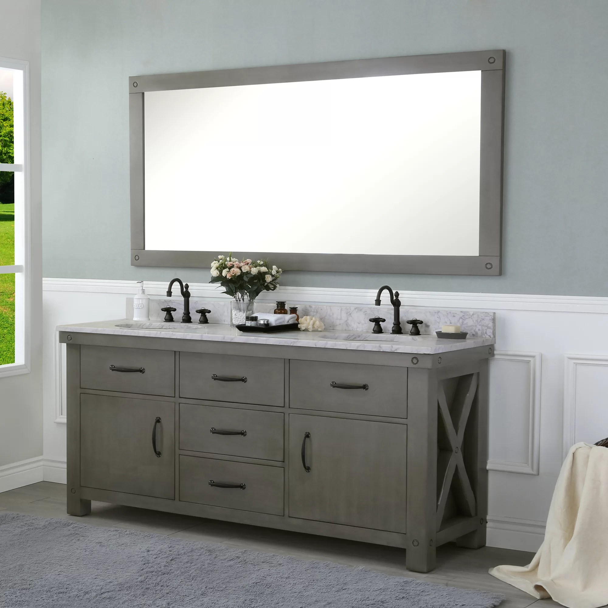 Vanities Bathroom Cleora 72