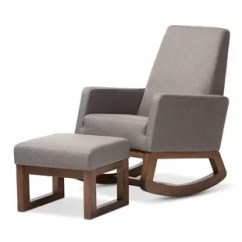 Rocking Chair Footrest Office Heavy Weight Modern Gliders Chairs Allmodern Quickview
