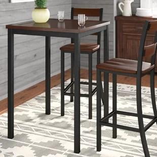 pub kitchen table best mats tables bistro sets you ll love wayfair ashlyn