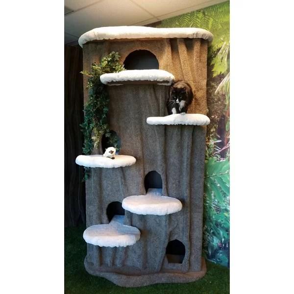 KittycatCondos 96 Cat Condo  Reviews  Wayfair