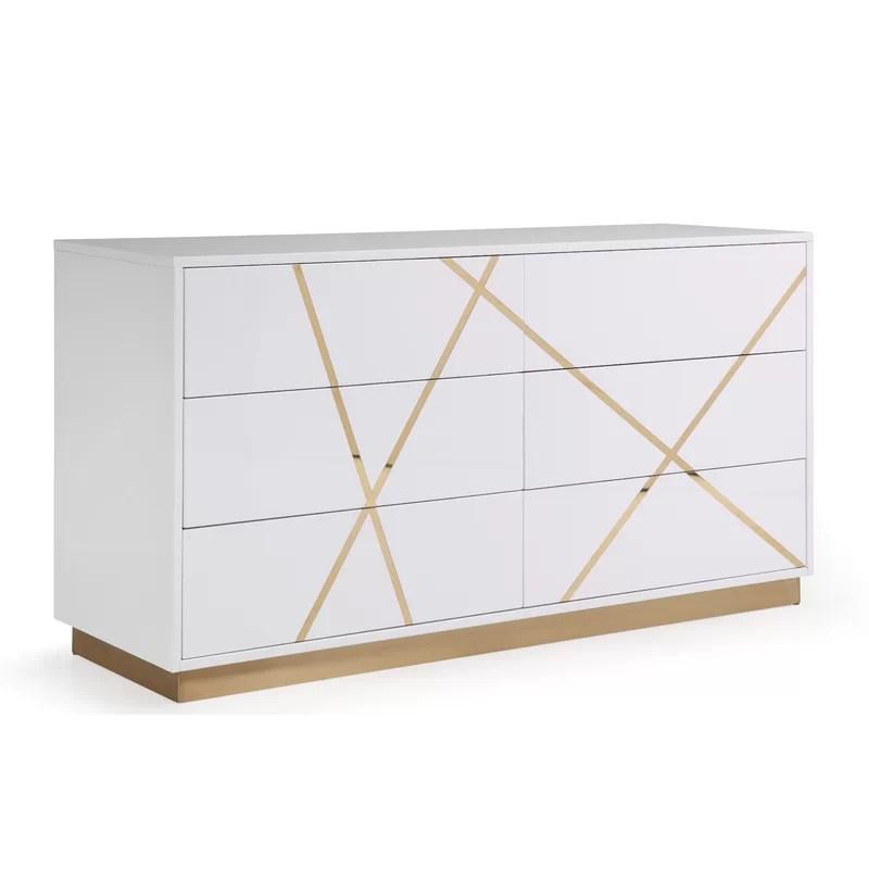 foti 6 drawer dresser