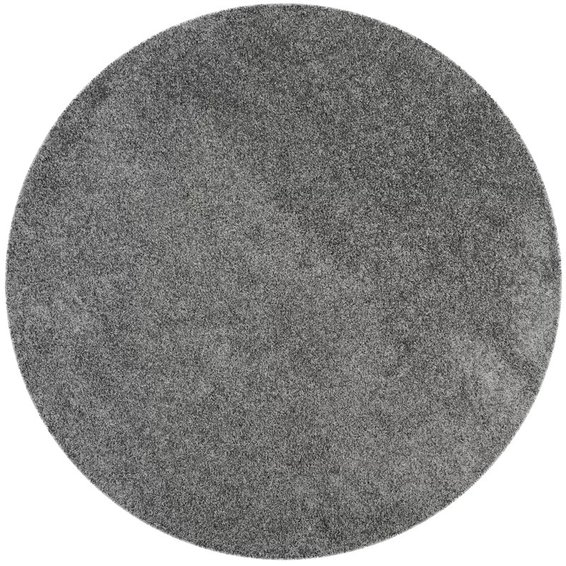 Nickols Shag Dark Gray Area Rug Rug Size: Rectangle 86 x 12
