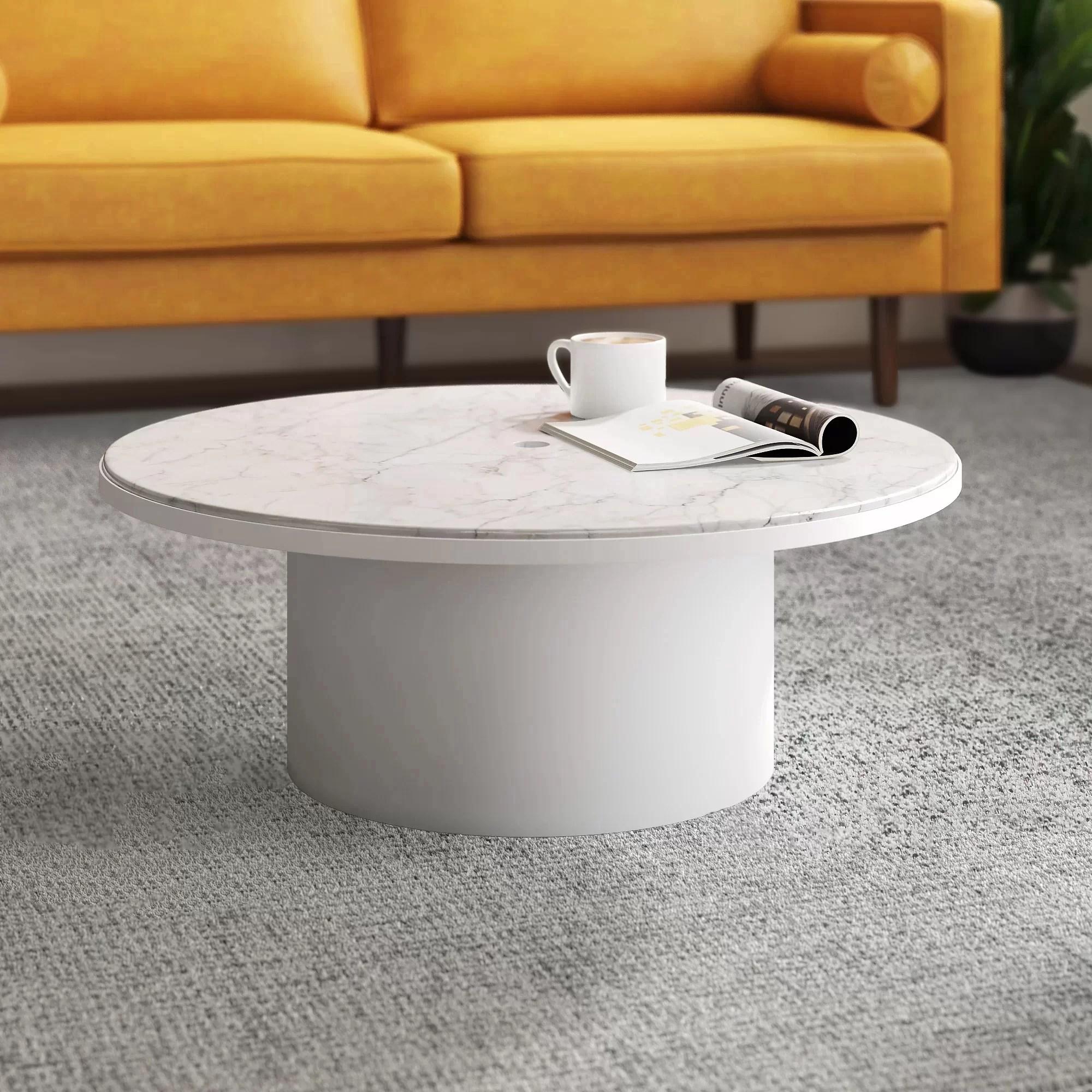 يهزم رئيس المقشود swell round coffee table