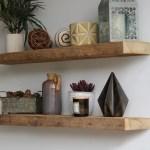 Urbanlegacy Reclaimed Barn Wood 2 Piece Floating Shelf Set Reviews Wayfair