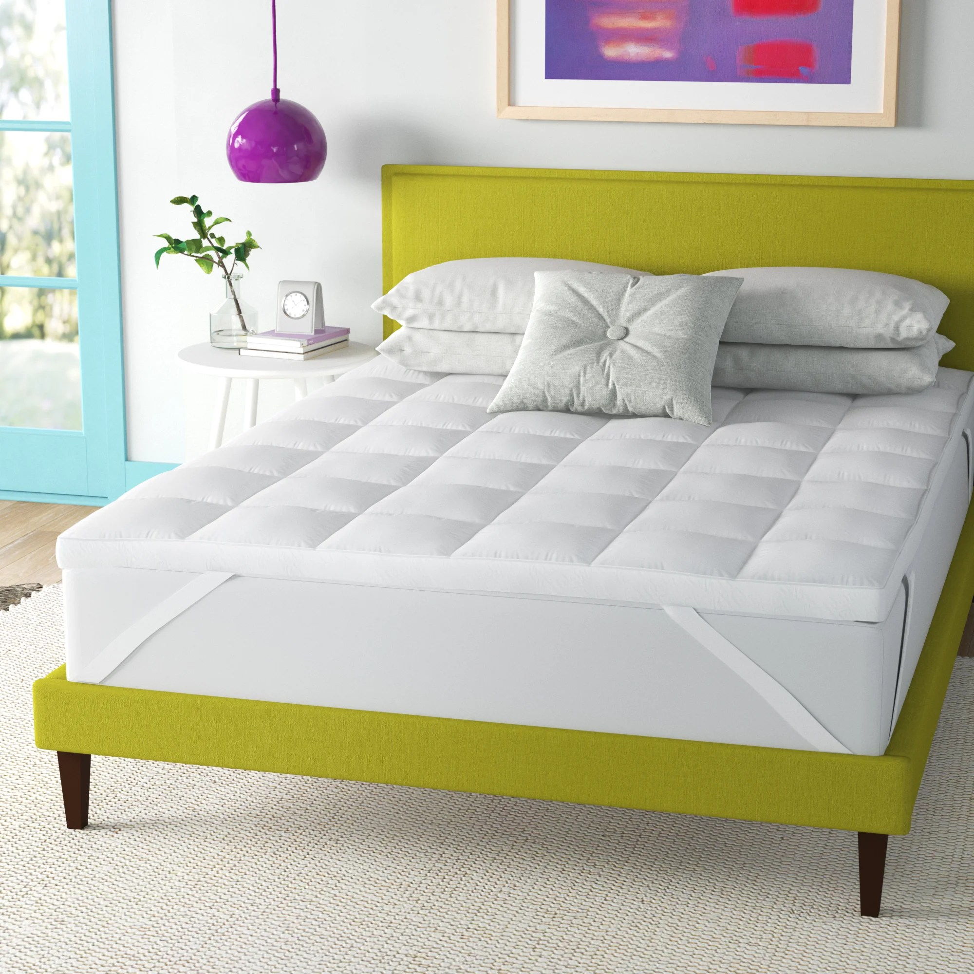 wayfair sleep 3 down alternative mattress topper
