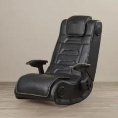 Gaming Lounge Chair Herman Miler Kids Video Game Chairs Wayfair Wireless