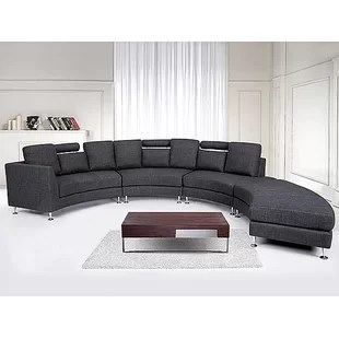 large dark grey corner sofa home decor brown leather sofas beds wayfair co uk quickview 0 apr financing