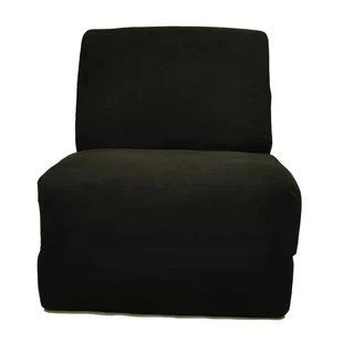 single sleeper chair brookstone zero gravity bed wayfair teen personalized kids