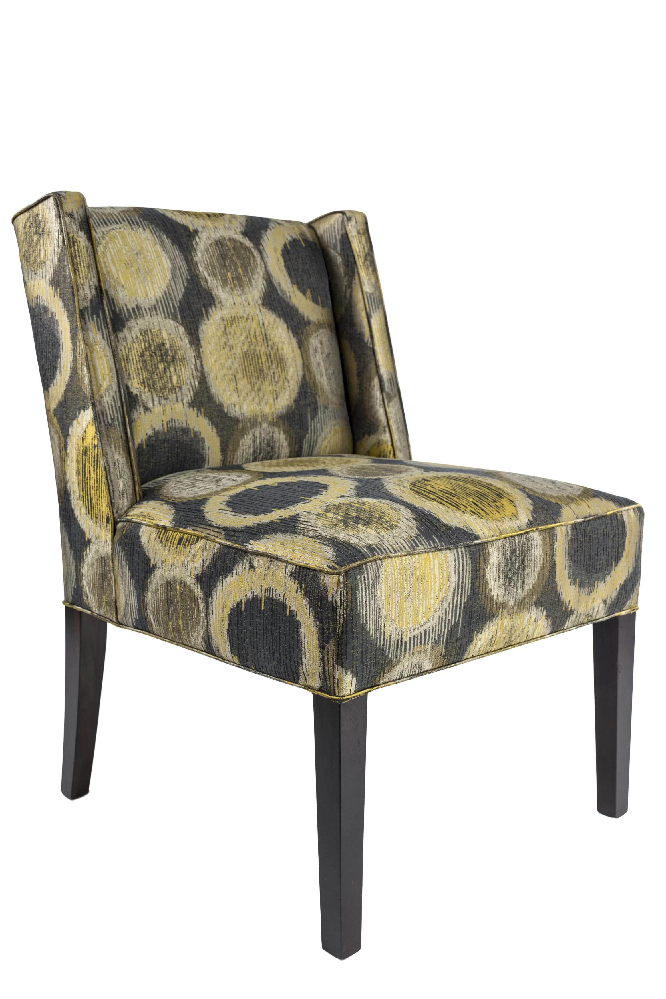upholstered slipper chair reclining chairs for sale winston porter hulings wayfair