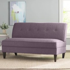 Armless Sofas 4 Seat Leather Sofa You Ll Love Wayfair Ca
