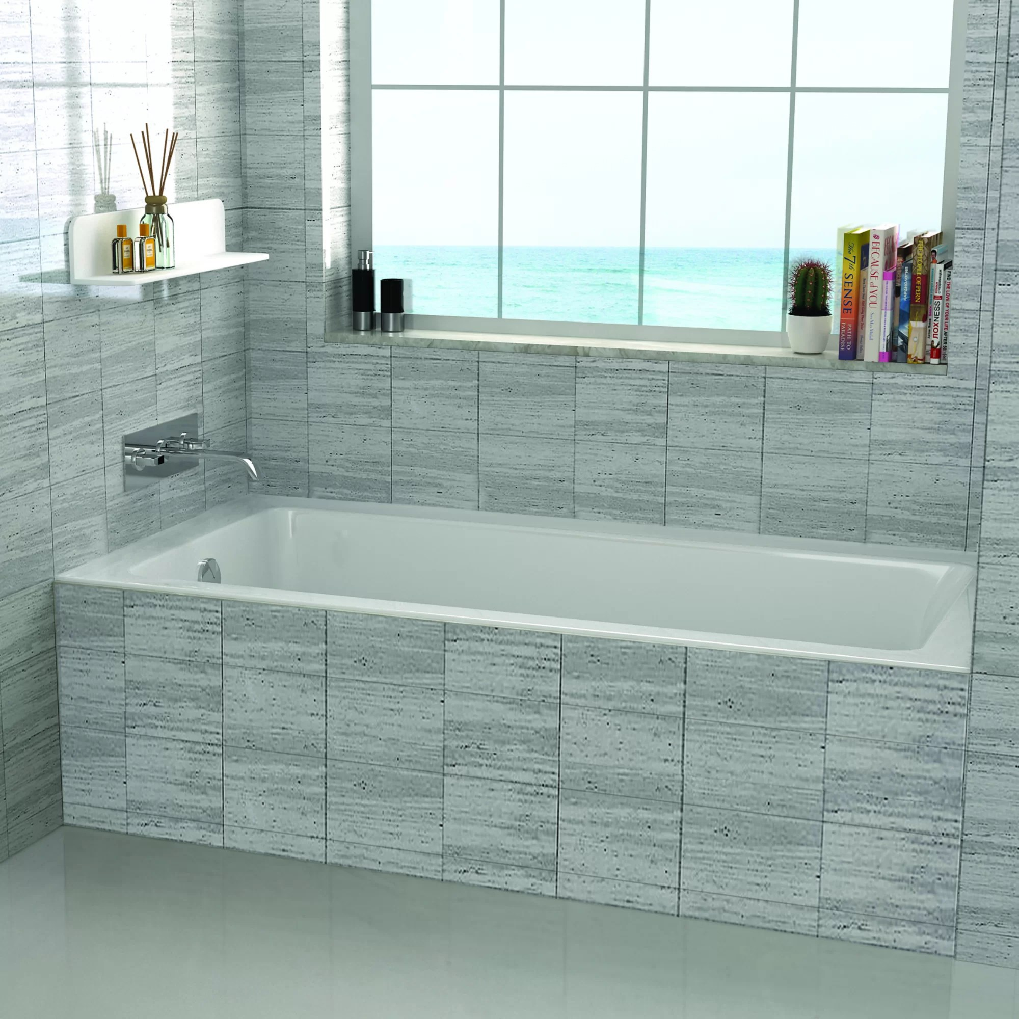 48 X 32 Drop In Soaking Bathtub