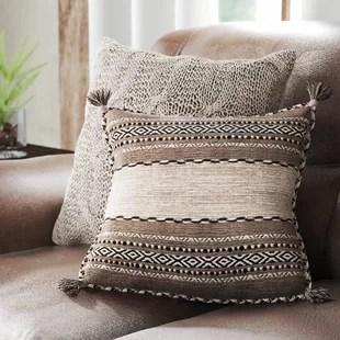 brown throw pillows you