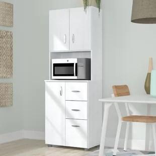 pantry kitchen restaurant setup cost cabinets you ll love wayfair hyland 66