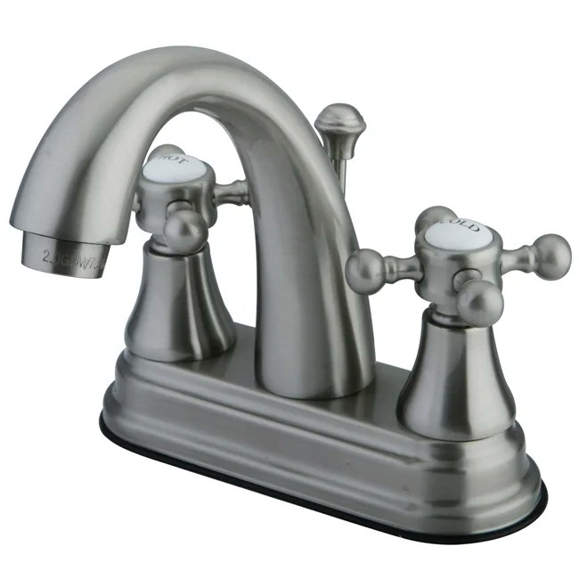 Diagram Of Parts For Classic Centerset Two Handle Bathroom Faucet