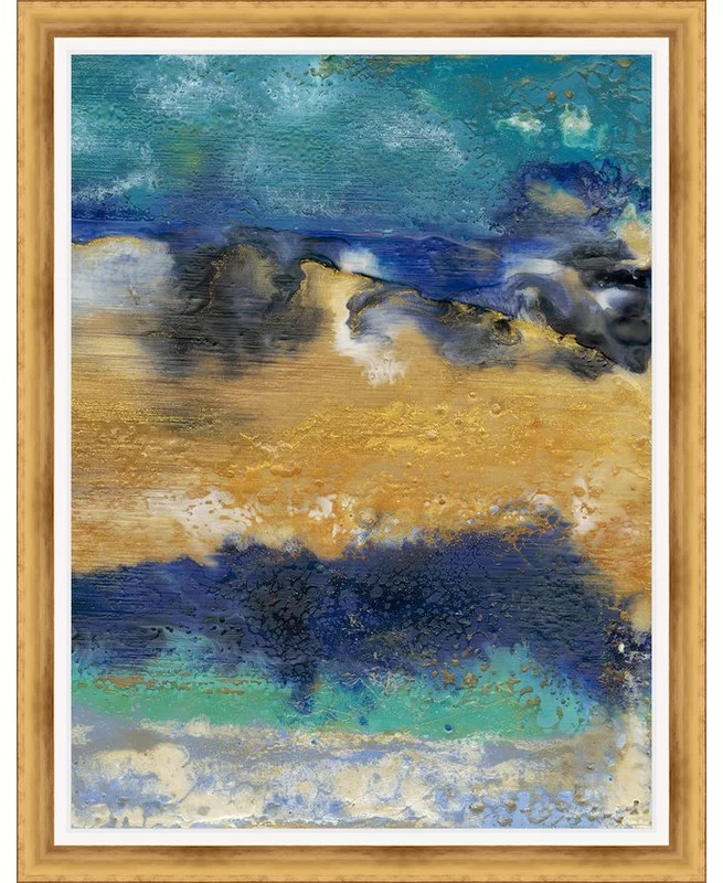 Trends Surf II Framed Painting Print