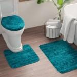 Mercury Row Brockley Oval Nylon Non Slip Solid Bath Rug Set Reviews