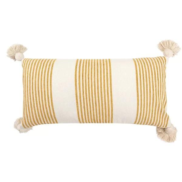 mustard yellow pillows