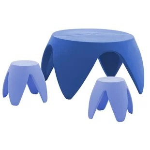 plastic kids table and chairs flower chair back covers for weddings sets you ll love wayfair quickview