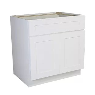 frits ready to assemble 48 x 34 5 x 24 in base cabinet style 2 door sink in white