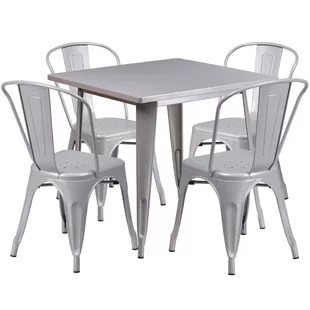 retro dining room table and chairs 2 seater modern contemporary set allmodern quickview