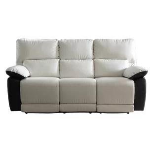 Elegant Reclining Sofa Removable Back Wayfair