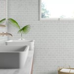 Andrew 2 X 4 Marble Mosaic Tile In White